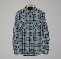 Vintage Stussy Deluxe Wool Button Down Shirt sz M USED