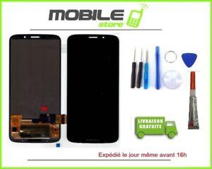 Vitre Tactile + Ecran LCD Pour MOTOROLA MOTO Z3 PLAY NOIR  + Outils+ Colle