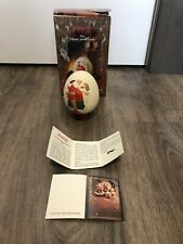 Coca-Cola 1984 Christmas Egg by Royal Orleans