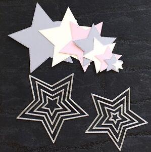 """Stanzschablone """"Sternenkollektion"""" geeignet für die Big Shot Sterne"""