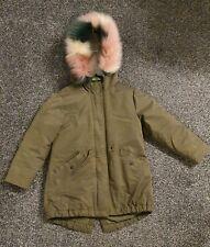 Girls Khaki Coat Size 5 Years Next BNWOT