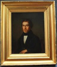 More details for fine 19th century portrait dapper young gentleman antique oil painting