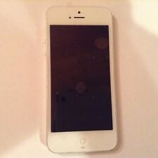Apple iPhone 5 (16GB) White & Silver (Unlocked) Smartphone