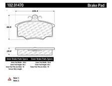 Disc Brake Pad Set fits 1977-1981 Volkswagen Dasher  C-TEK BY CENTRIC