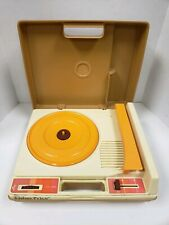 Vintage Fisher Price Portable Record Player Turntable  33 45 RPM 1978 Model 825