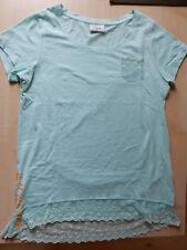 Damen Kurzarm Shirt Gina T-shirt Bluse Hemd Freizeit Oberteil Tunika 40 NEU