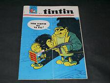 Journal de Tintin Français N° 871  Couverture HUGO