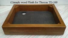 New Teak Plinth for Thorens TD-160(True colors)