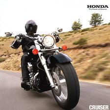 Honda - Cruiser-Programm - Prospekt  - 01/2012 - Deutsch - nl-Versandhandel
