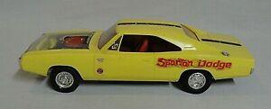 LOOK! MPC 1970 DODGE CHARGER R/T ORIGINAL 1/25 ANNUAL BUILT MODEL CAR KIT!