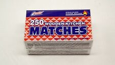 Wooden Kitchen Matches 500 Strike On Box Quality Home Camping Campfire Hiking