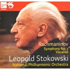 1-CD RACHMANINOV - SYMPHONY NO. 3 / VOCALISE - LEOPOLD STOKOWSKI / NATIONAL PHIL