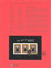 #1824 (1.50)  Forever The Art of Magic Souvenir Sheet {#5306} Souvenir Page