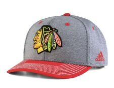 Brand New Adidas Chicago Blackhawks Heather Line Change Hat Cap Adjustable