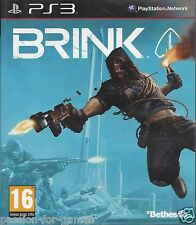 BRINK for Playstation 3 PS3 - with box & manual