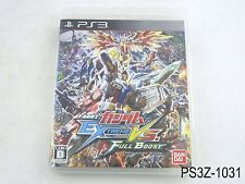 Mobile Suit Gundam Extreme VS Full Boost Japanese Import Playstation 3 PS3