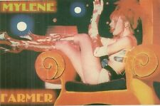 RARE / CARTE POSTALE POSTCARD - MYLENE FARMER / COMME NEUF - LIKE NEW