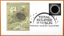 Halley's Eclipse of 1715. England to Russia. Total Solar Eclipse of the Sun FDC