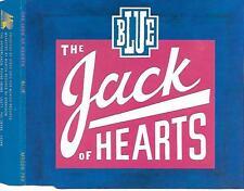 THE JACK OF HEARTS - Blue CD SINGLE 3TR Dutch Rock 1990 (MUNICH RECORDS)