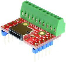 Apple Lighting Female connector breakout board eLabGuy APPLE-LF-BO-V2A Arduino