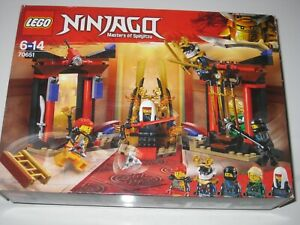 LEGO NINJAGO SET 70651 THRONE ROOM SHOWDOWN - BRAND NEW