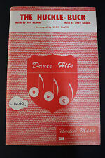 SHEET MUSIC BOOK:  The Huckle-Buck  Eddie Sauter United Music Corp. 1949