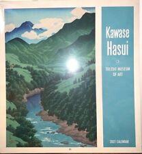 Kawase Hasui 2021 Wall Calendar Toledo Museum of Art The Art of Kawase Hasui