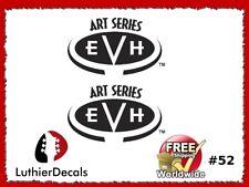 Charvel EVH Art Series Guitar Headstock Decal Restoration Waterslide Logo 52