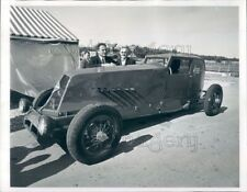1966 Press Photo Roger Pichon With 1926 Renault Racing Auto