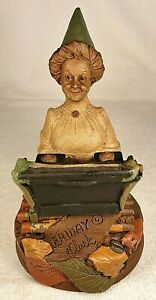 FRIDAY-R 1990~Tom Clark Gnome~Cairn Studio Item #5104~Edition #67~Story Included