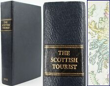 SCOTTISH TOURIST*1832*ITINERARY*GUIDE*HIGHLANDS*STEAM-BOAT TOURS*HEBRIDES*MAP*VG