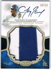 2013 TOPPS TIER ONE PRODIGIOUS PATCHES AUTOGRAPH PATCH HANLEY RAMIREZ 06/10 !!