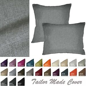 Qh*Tailor Made*Flat Pillow Case/Cushion Square Rectangle Seat Cover Custom Size