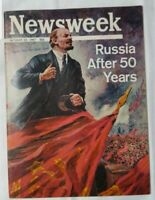 Newsweek October 23 1967 Russia 50 Years Vintage Collectable Paper Magazine
