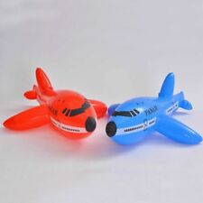 1x Inflatable Aircraft Cartoon Plane Airliner PVC Plastic Balloons Planes Toys