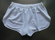 FRENCH Vintage Shorts SIZE L !NEW!  Sprinter Sport Sports Running shiny white