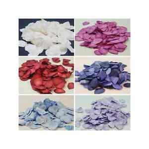200 Biodegradable Paper Rose Petals Confetti Wedding Table Decoration