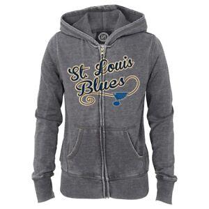 NHL Full Zip Fleece Hooded Jacket Collection Girls (4-16)