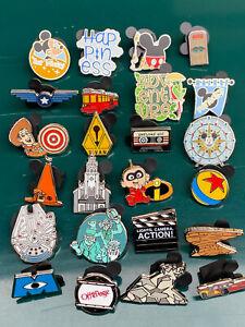 Disney Disneyland Tiny Kingdom Mystery Pins 2nd Edition Series 1 - Your Choice