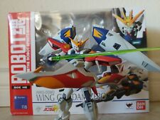 Robot Spirits SIDE MS Wing Gundam Zero Bandai Japan R-118 Robot Damashii