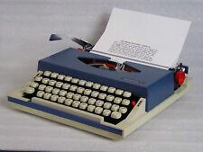 1971 Imperial Gemini Radio / Typewriter in Superb condition New ribbon, 3 spares