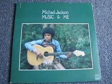 Michael Jackson-Music & me LP-1973-Motown-Pop-RnB-33 U/min-M 767 L