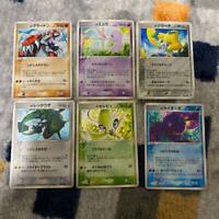 Pokemon card lot 6 collection Mew / Celebi / Jirachi etc Players Promo