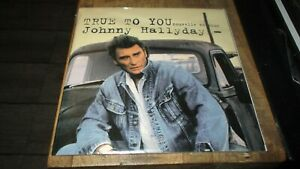 Johnny Hallyday-Hors commerce-True to you-Neuf sous cello-Rarissime-1992