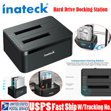 "2.5"" 3.5"" Hard Drive External Enclosure SATA to USB 3.0 HDD Dual Docking Station"
