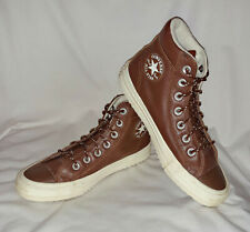 Converse Chuck Taylor All Star Hi Clove Brown Leather Sneakers Shoes Womens 7