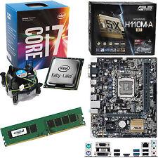 INTEL Core i7 7700 3.6Ghz (4.2Ghz), ASUS H110M-A/M.2 & 4GB 2133Mhz DDR4 RAM