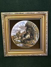 A GENUINE STAFFORDSHIRE CERAMIC HANDMADE BY HARLEIGH CHINA .Co CONSTABLE Plaque