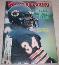 Sports Illustrated Magazine August 16, 1982 Walter Payton Chicago Bears