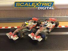 Scalextric Digital F1 McLaren MP4-21 AUTO Alonso & Hamilton, buone Corridori